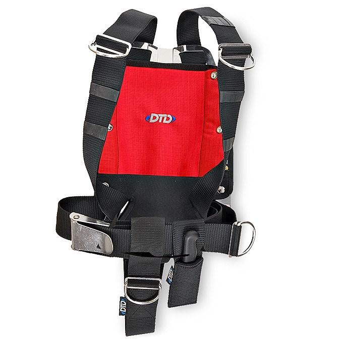 DTD Backplate nerez 3 mm komplet Barva: Červená