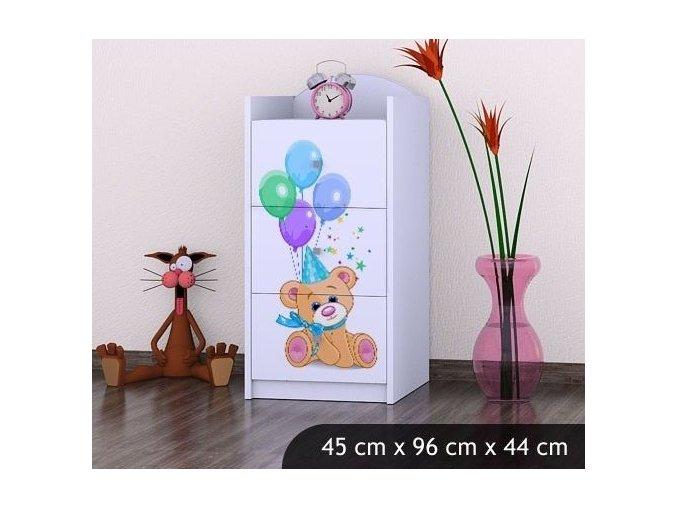Dětská komoda BABYDREAMS Bears