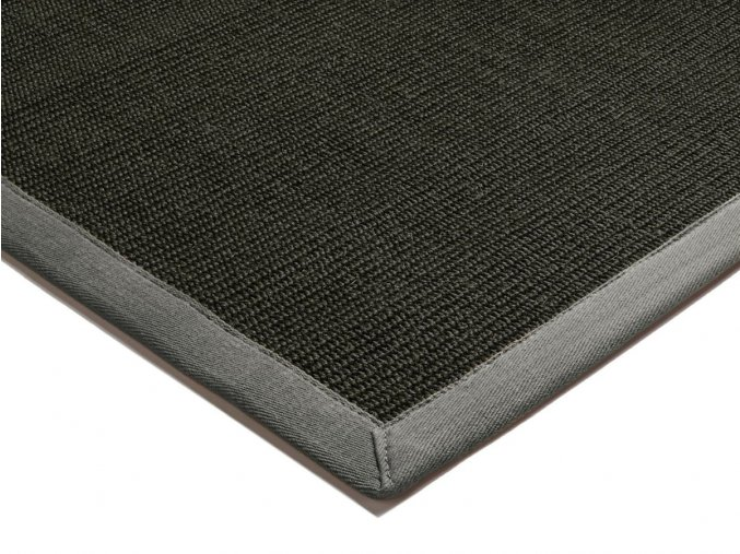 asiatic SISAL GREY BLACK