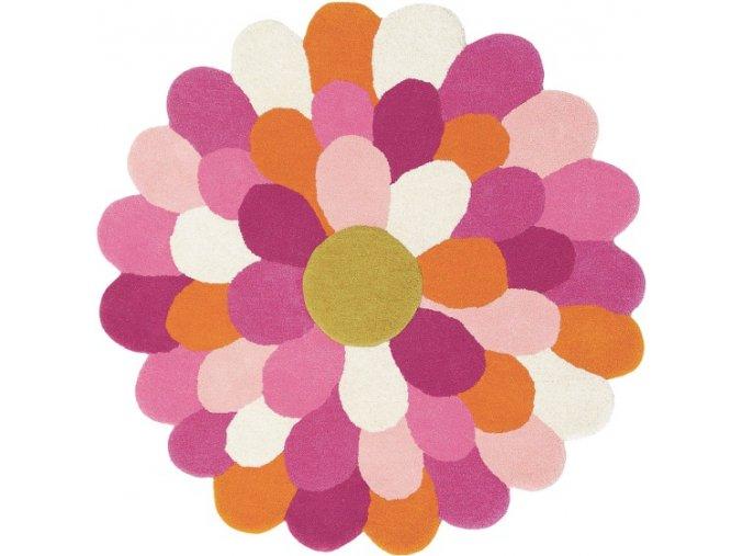 Koberec Harlequin - FUNKY FLOWER 42702 Pink
