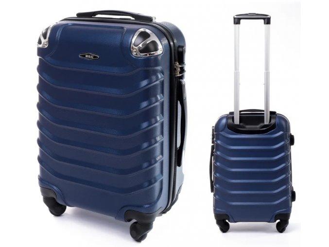 Cestovní Kufr ALBION - Tmavě Modrý