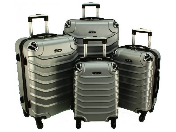 Cestovní Kufr ALBION - Stříbrný