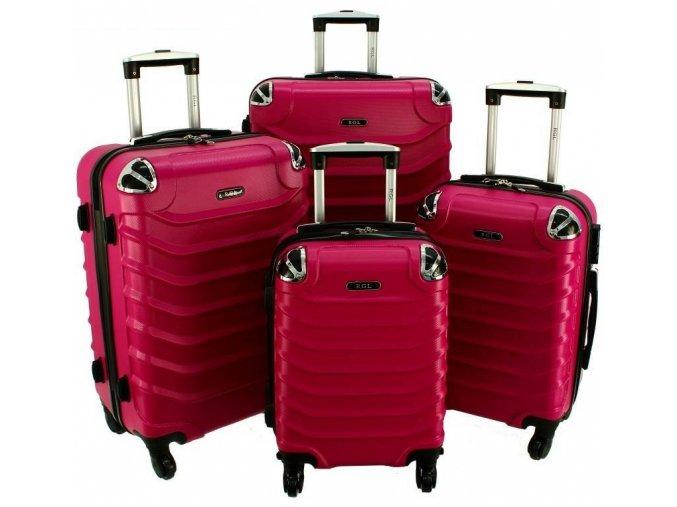 Cestovní Kufr ALBION - Růžový