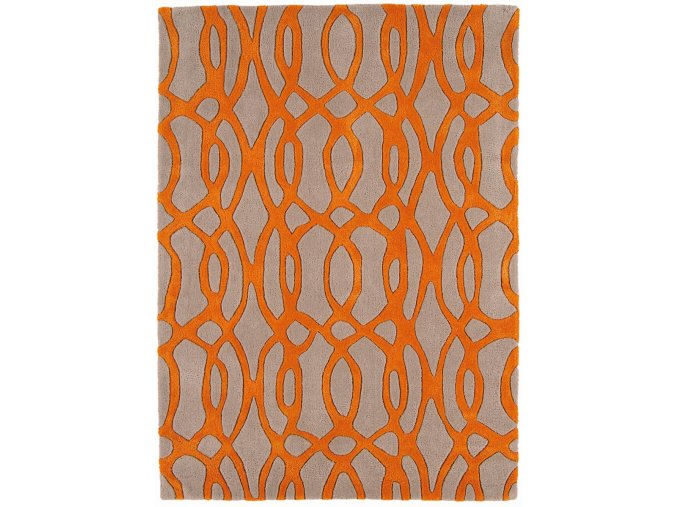 Koberec Asiatic Contemporary Design - MATRIX MAX37 Wire Orange