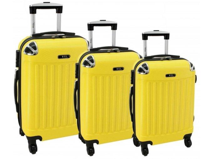 Cestovní Kufr AERO - Žlutý