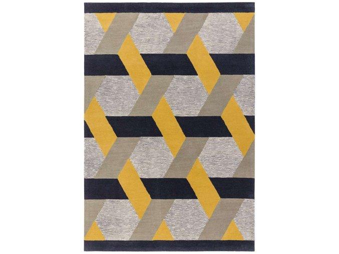 camden rug gold