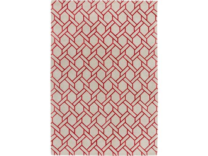 Nexus Fine Lines Silver Red