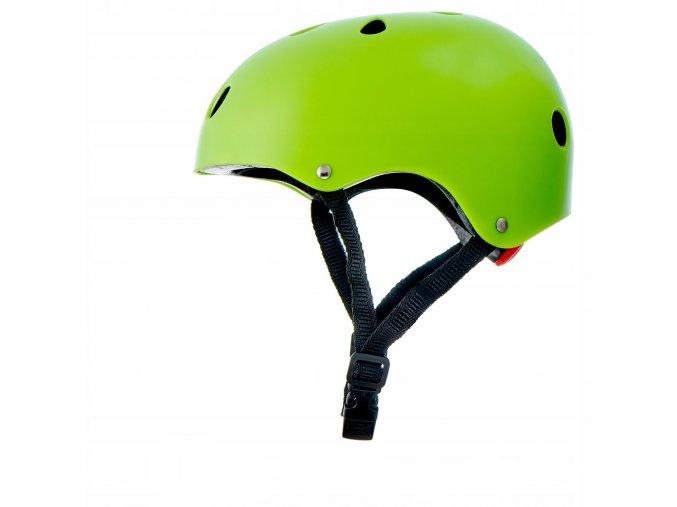 Cyklistická přilba SAFETY Zelená10