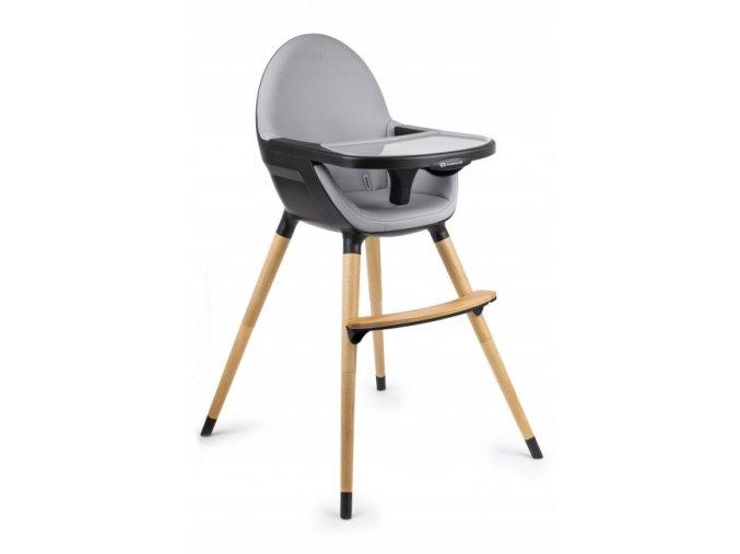 Jídelní židlička NIFI 2v1 Tmavě Šedá