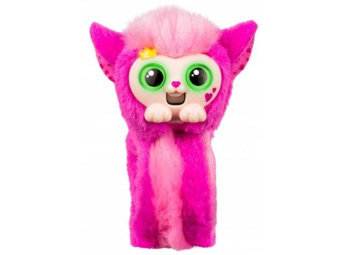 WRAPPLES Interaktivní zvířátko růžová Princeza