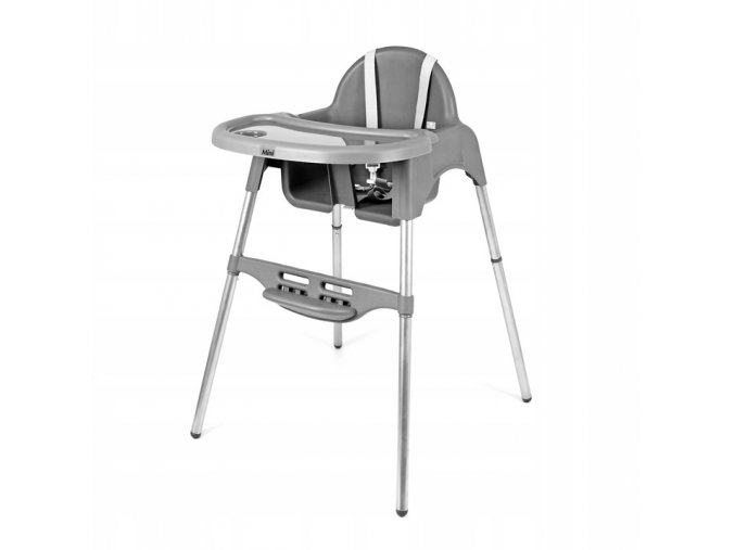 Jídelní židlička SAPPHIREŠedá