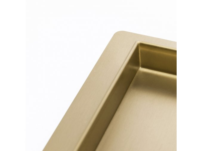 Odtokový sprchový žlab NEO ROTARY 360 2v1 zlatý