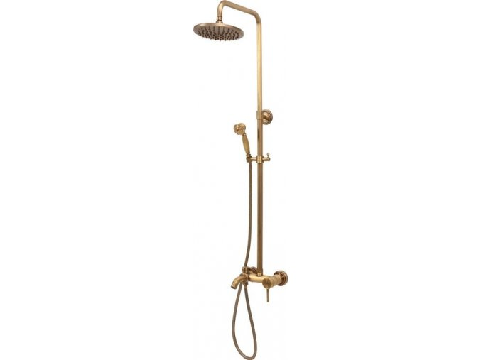 Sprchová souprava RETRO zlatá 2