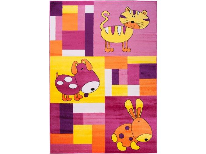 Koberec Kinder Carpets - KINDER Colorful 1