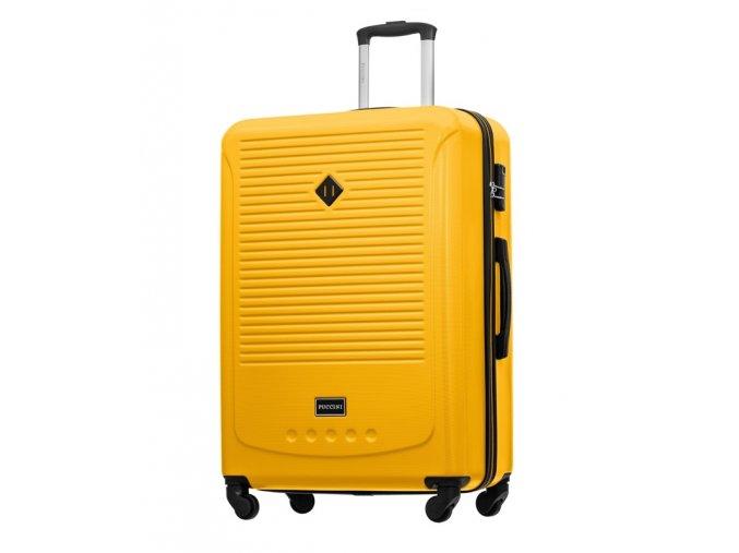 Cestovní Kufr CORFU - Žlutý