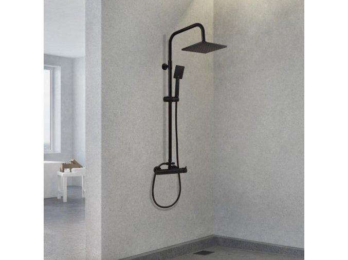 Sprchová souprava Arche černá