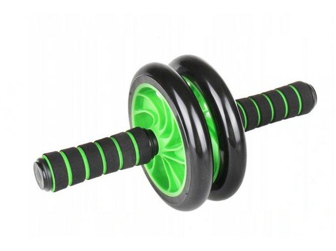 Posilovací kolečko - černé-zelené