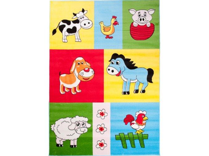 Koberec Kinder Carpets - KINDER Colorful 28