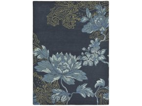 Koberec Wedgwood - FABLE FLORAL Navy 37508