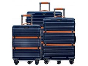 Cestovní Kufr XENON - Tmavě Modrý