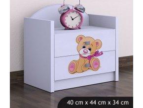 Dětský noční stolek BABYDREAMS Bear (7)