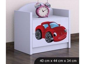 Dětský noční stolek BABYDREAMS Car 3 (3)