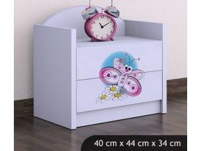 detsky nocni stolek babydreams butterfly (4)