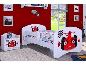 Dětská postel BABYDREAMS Car 2 (8)