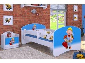 Dětská postel BABYDREAMS Bob the Builder (8)