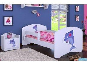 Dětská postel BABYDREAMS Dolphin (9)