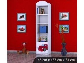 Dětský úložný regál BABYDREAMS A Car 3 s (1)