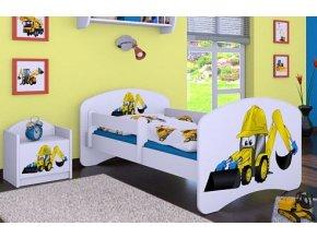 Dětská postel BABYDREAMS Digger (8)