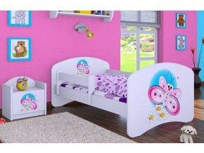 Dětská postel BABYDREAMS Butterfly (9)