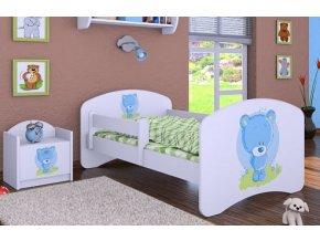 Dětská postel BABYDREAMS Blue teddy bear (9)