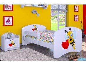 Dětská postel BABYDREAMS Bee with a heart (17)