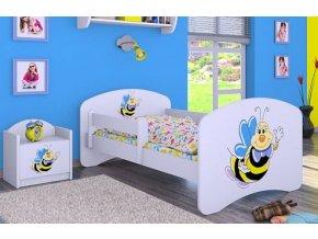 Dětská postel BABYDREAMS A smiling bee (1)