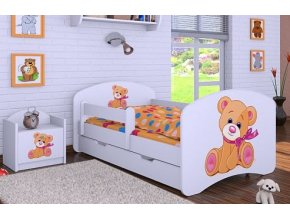 Dětská postel BABYDREAMS Bear se šuplíkem (8)
