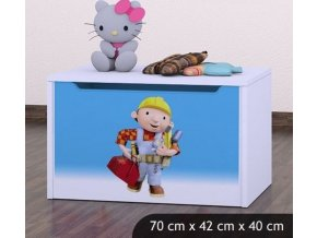 Dětská truhla na hračky BABYDREAMS Bob The Builder (4)