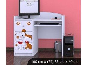Dětský psací stůl BABYDREAMS Dog And Kitten (1)
