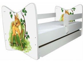 Dětská postel LUX bambi 140x70 cm