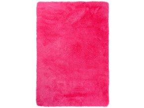 Plyšový koberec - Tmavě-Růžový