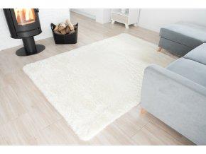 Plyšový koberec - Ivory
