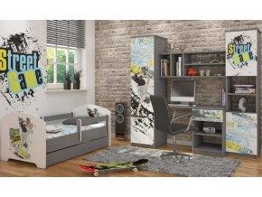 Dětská postel LUX FILIP SKATE 140x70cm (1)