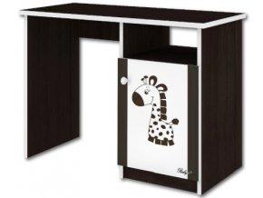 Dětský psací stůl LUX FILIP HNĚDÝ ŽIRAFA