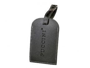 Jmenovka na kufr - Černá