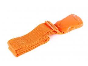 Bezpečnostní popruh na kufr - Oranžový