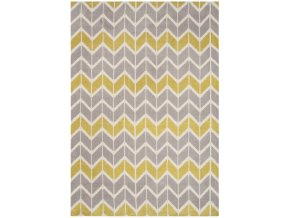 ARLO AR06 CHEVRON LEMON GREY ARLO AR06 CHEVRON LEMON GREY