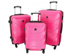 Cestovní Kufr CARBON - Růžový