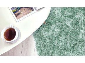 Shaggy koberec - Zelený