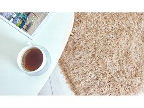 Shaggy koberec - Zlatý